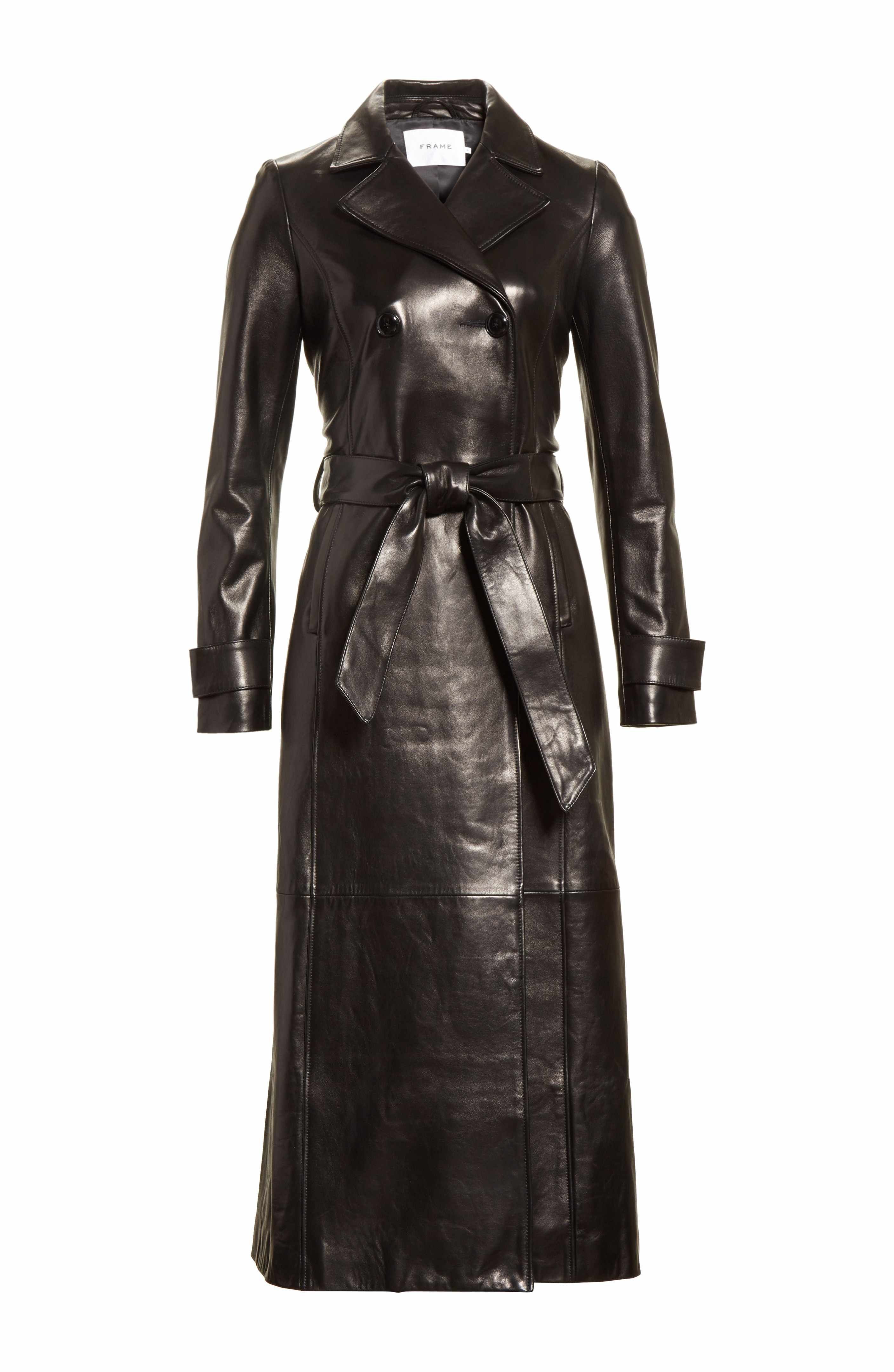 FRAME Leather Trench Coat. Find this Pin and more on Dámske kožené bundy ... 0a0a1738523