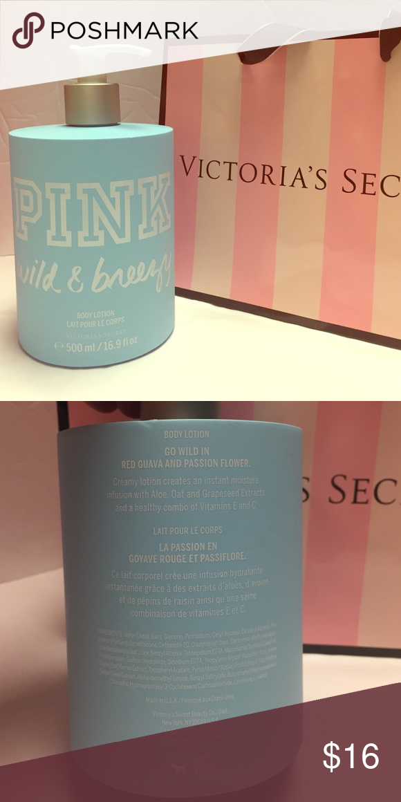 Pink Victoria S Secret Body Lotion Pink Wild Breezy Body Lotion By Pink Victoria S Secret Victoria Secrets Body Lotion Victoria Secret Pink Fresh Fragrances