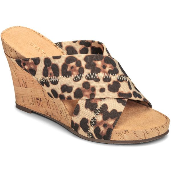 Aerosoles Women's Party Plush Sandals (391228601) ($50) ❤ liked on Polyvore  featuring · Sandal WedgesWomen's ...
