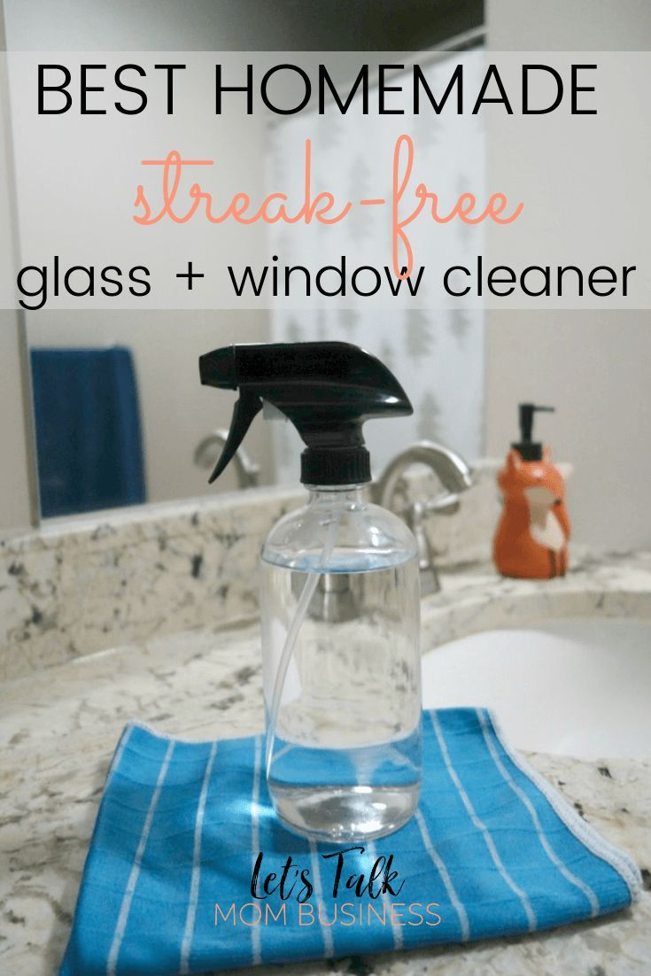 Diy Glass And Window Cleaner In 2020