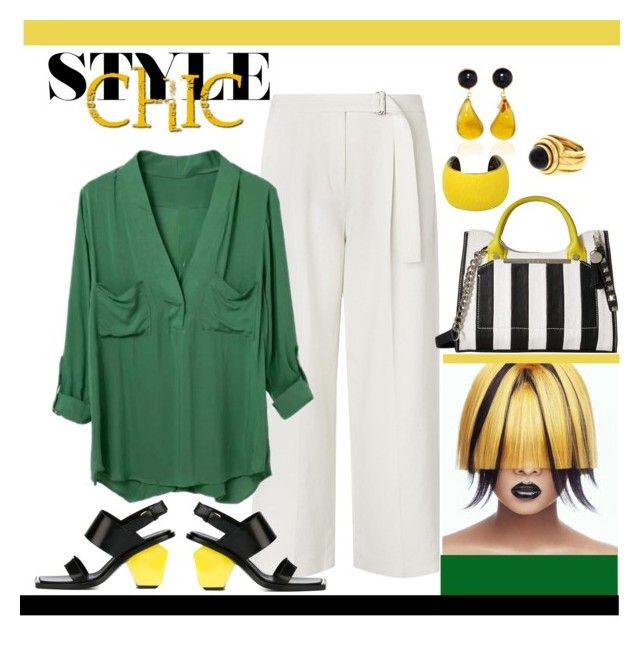 """""""Fresh Look!"""" by penelopepoppins ❤ liked on Polyvore featuring L.K.Bennett, Steve Madden, Marni, Isabel Marant and Piaget"""