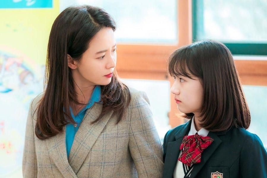 "Song Ji Hyo Shares Love For On-Screen Daughter Uhm Chae Young In Upcoming Rom-Com ""Was It Love?"""