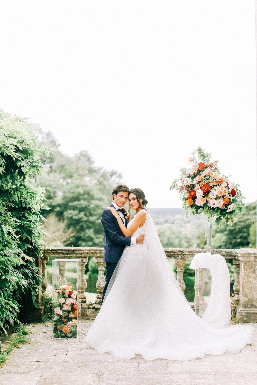 Luxury outdoor wedding portraits | Destination wedding photography | Charlotte Wise