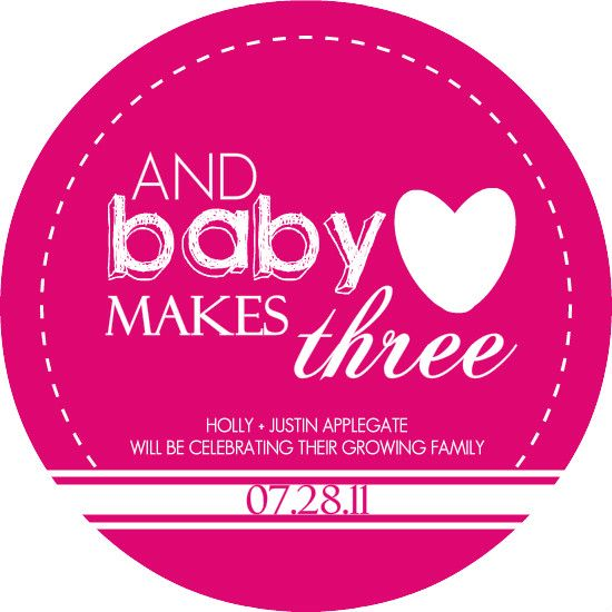 Baby Makes Three Pregnancy Announcement by PurpleTrail.com ...