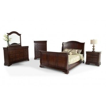 Haven 8 Piece Queen Bedroom Set Bobs Furniture Home Furniture And Decoration Pinterest