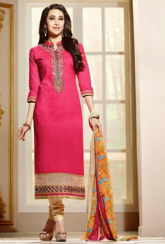 Pink Designer Suit - Desi Royale