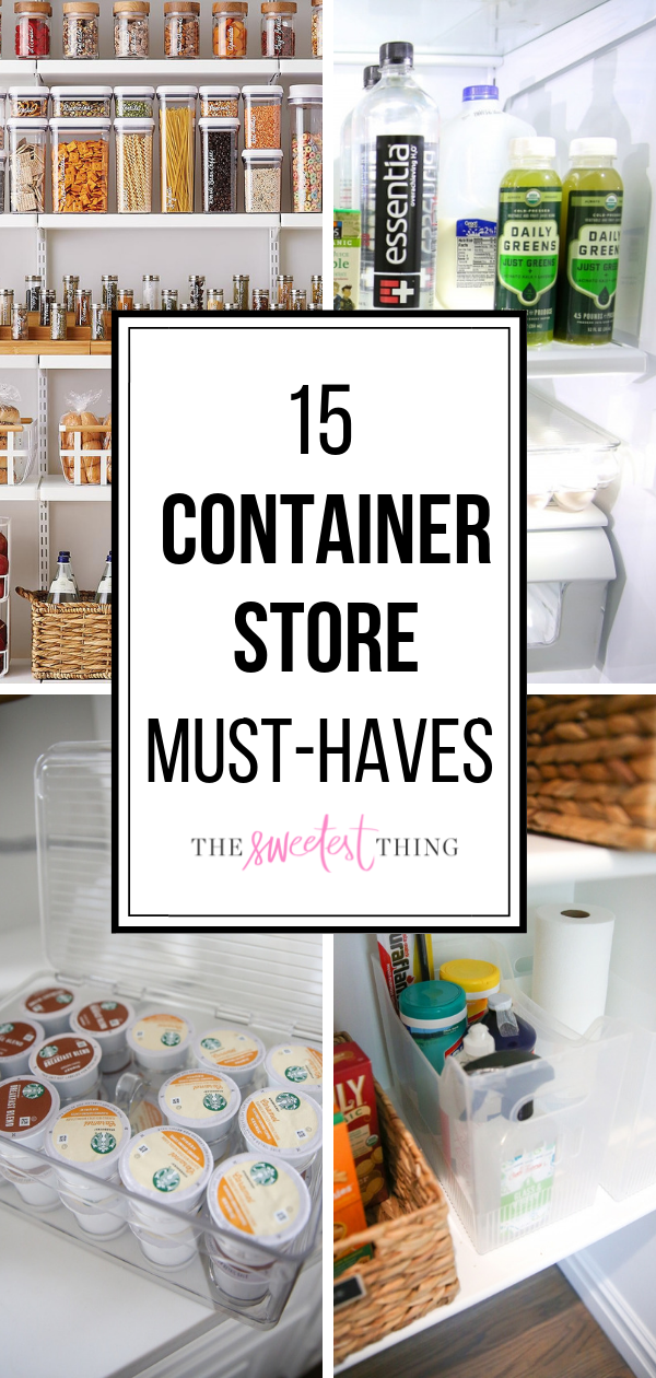15 Container Store Must-Haves [Organizing The New House] | The Sweetest Thing