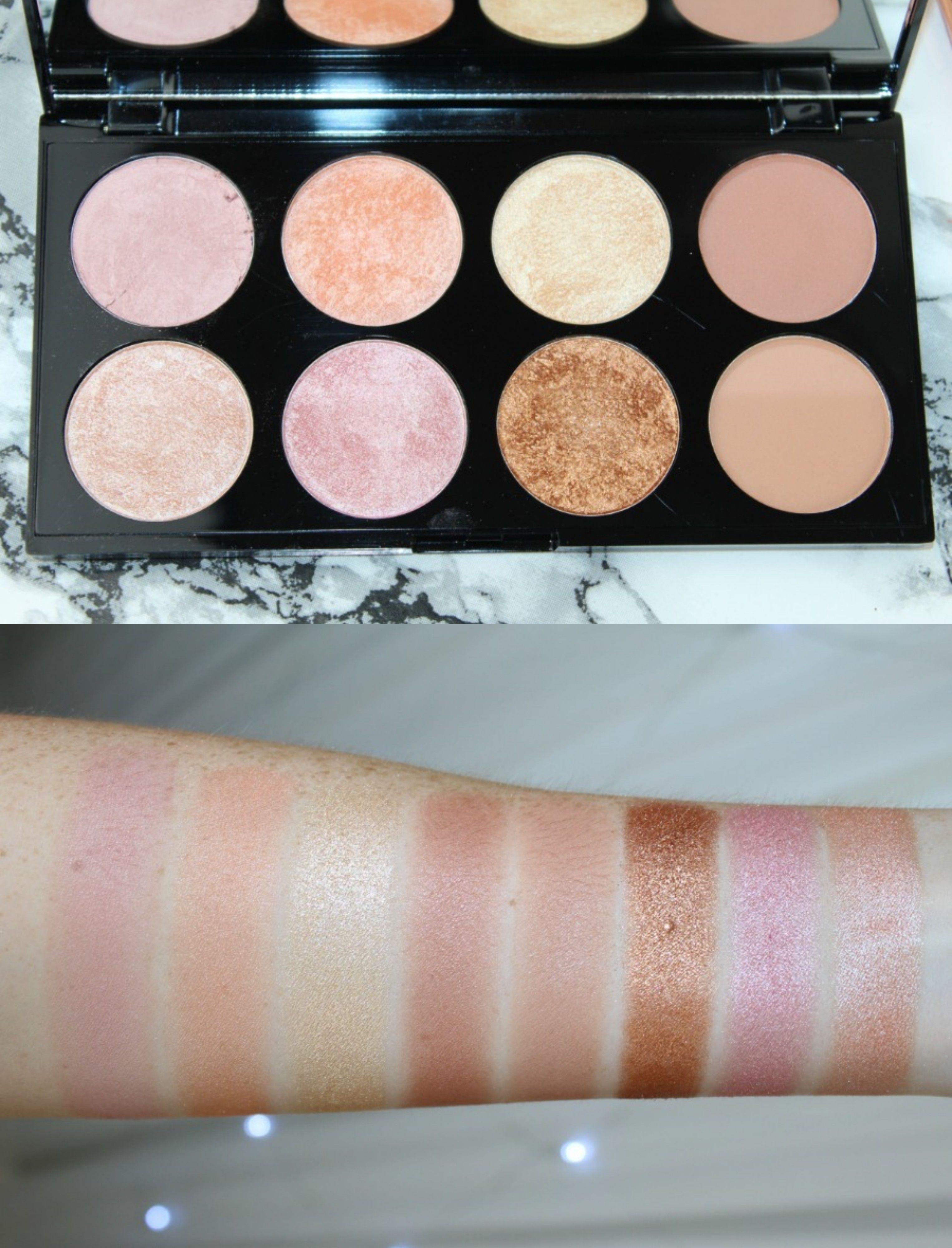 Revolution Golden Sugar 2 Rose Gold Review & Photos. Makeup Revolution Kisu Palette ...