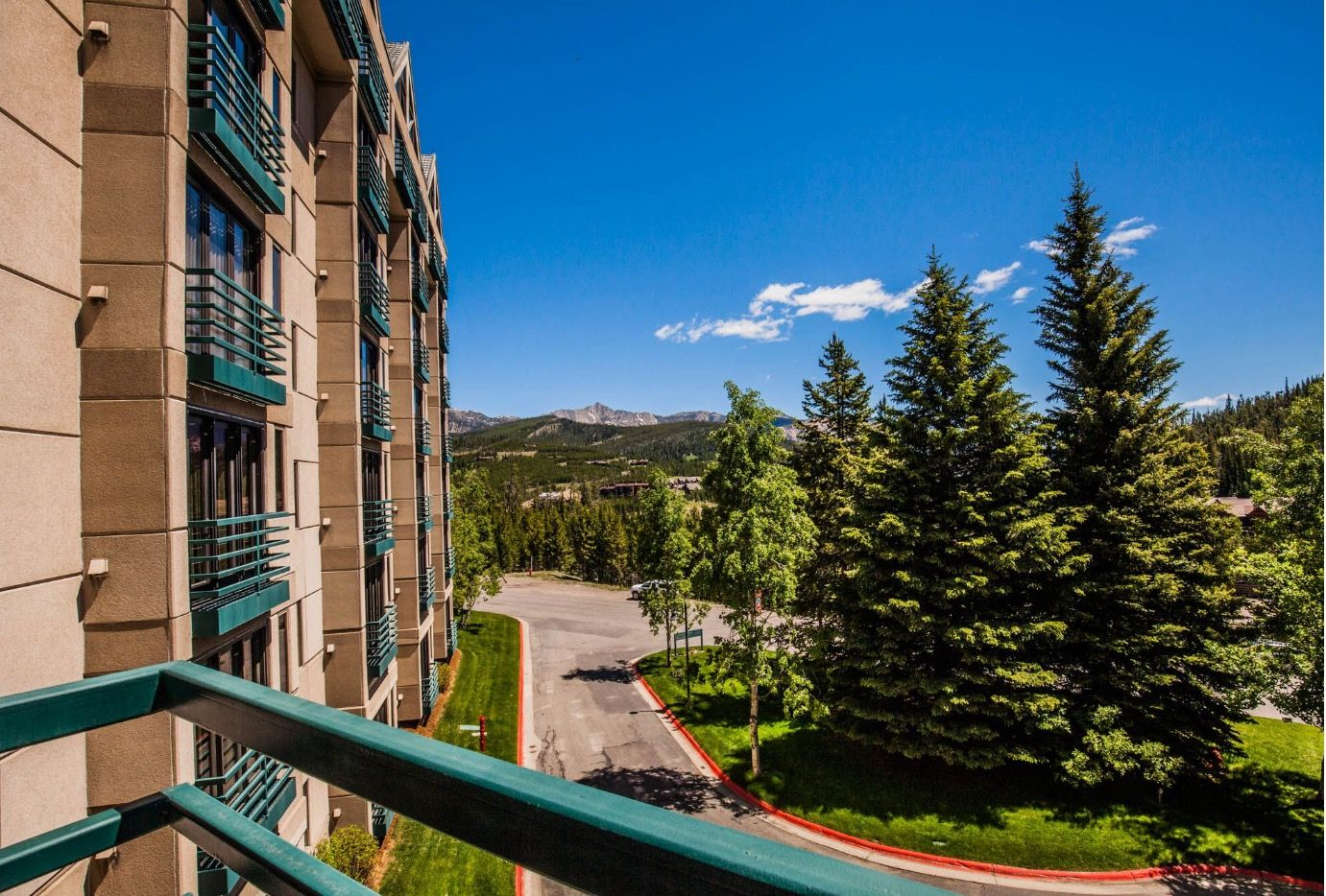 View From 3rd Floor Shoshone Condo For Sky Resort Mt