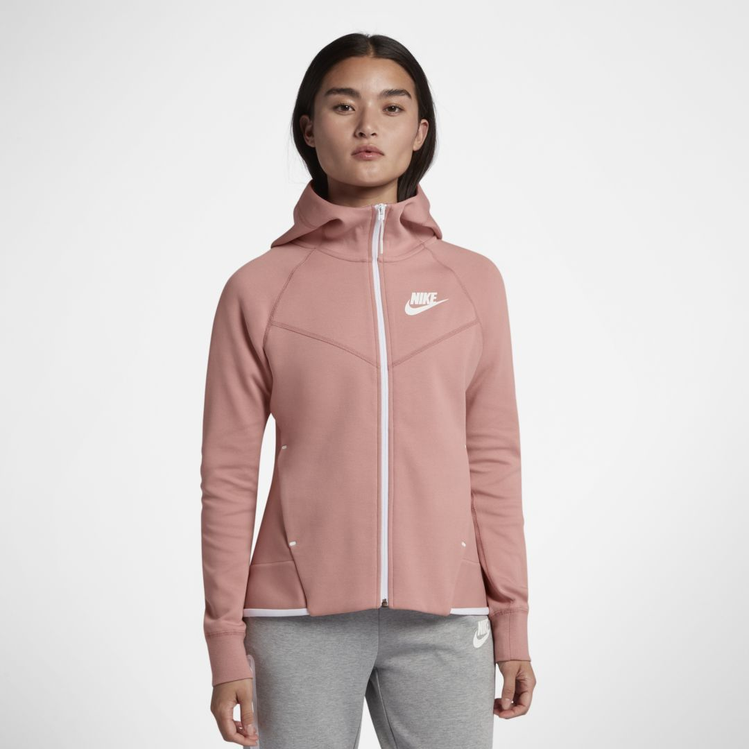 0c1ac86879c4 Nike Sportswear Tech Fleece Windrunner Women s Full-Zip Hoodie Size 2XL  (Rust Pink)