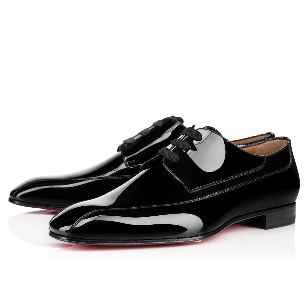 7635483684c CHRISTIAN LOUBOUTIN Orleaness Flat Black Patent Leather - Men Shoes - Christian  Louboutin.  christianlouboutin  shoes