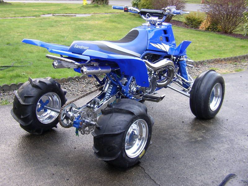 BansheeFastest baddest four wheeler in the land Twin carb dual