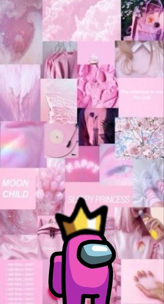 Wallpaper Among Us Pink Aesthetic - Gambar Ngetrend dan VIRAL