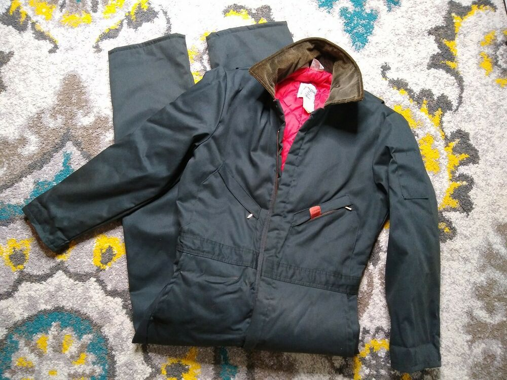 vtg walls zero zone insulated coveralls outerwear medium on walls coveralls id=94118