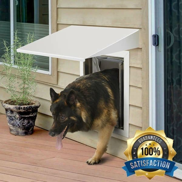 exterior pet door for walls large dogs german shepherd collie