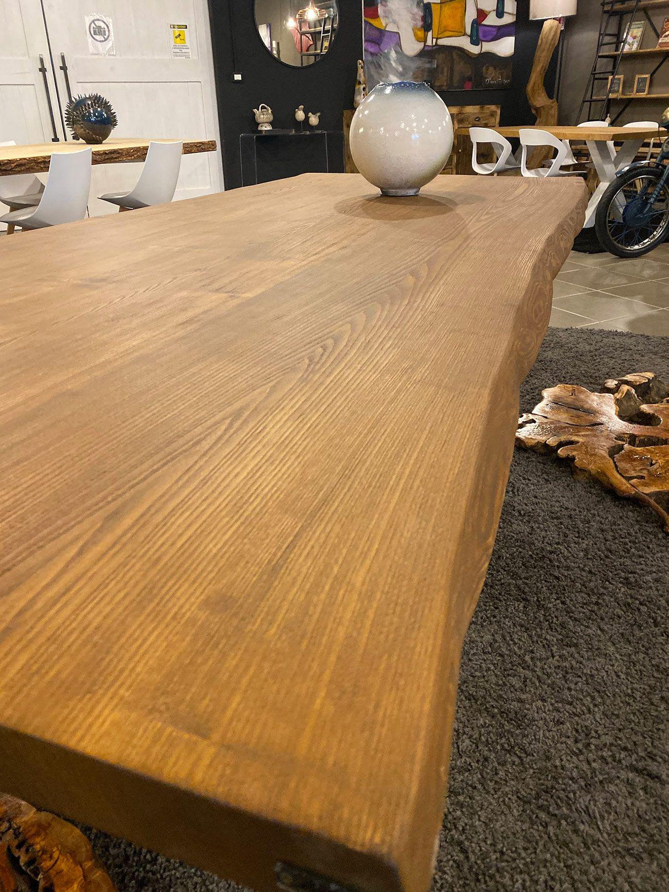 Tavolo da pranzo grande in legno di frassino Robert ...