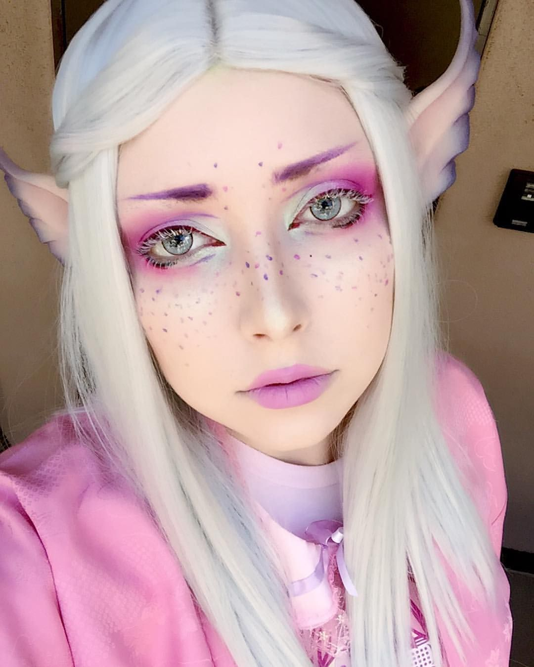 Awesome Fae Look By At Xxanemia On Instagram Makeup Pinterest - Maquillaje-elfo