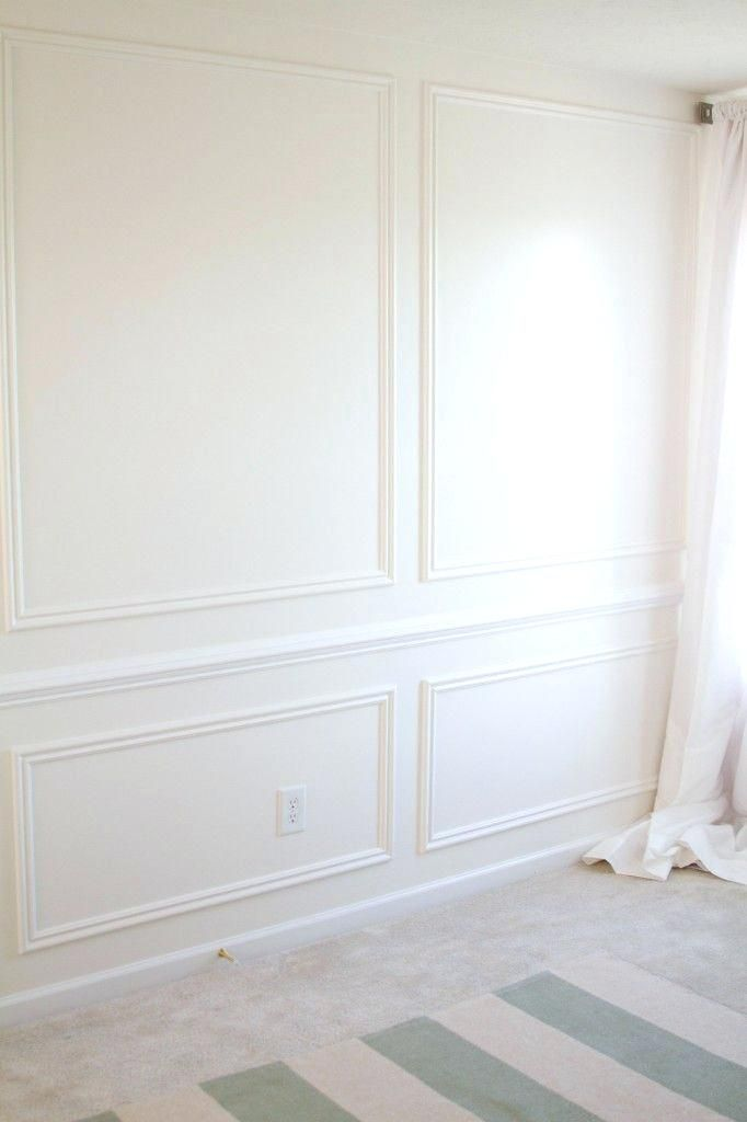 Wood Wall Molding High End Look With Trim On Wall Wood