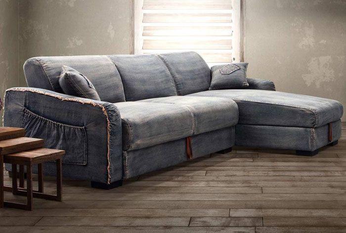 see the zuo brand denim sleeper sofa