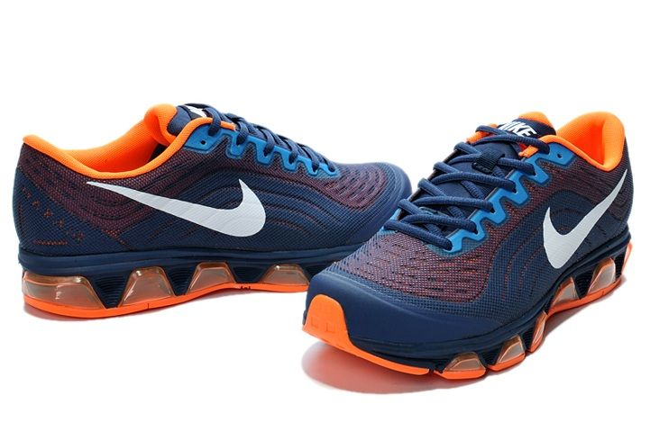 nike mens air max tailwind 6 running shoes - blue/green eyes