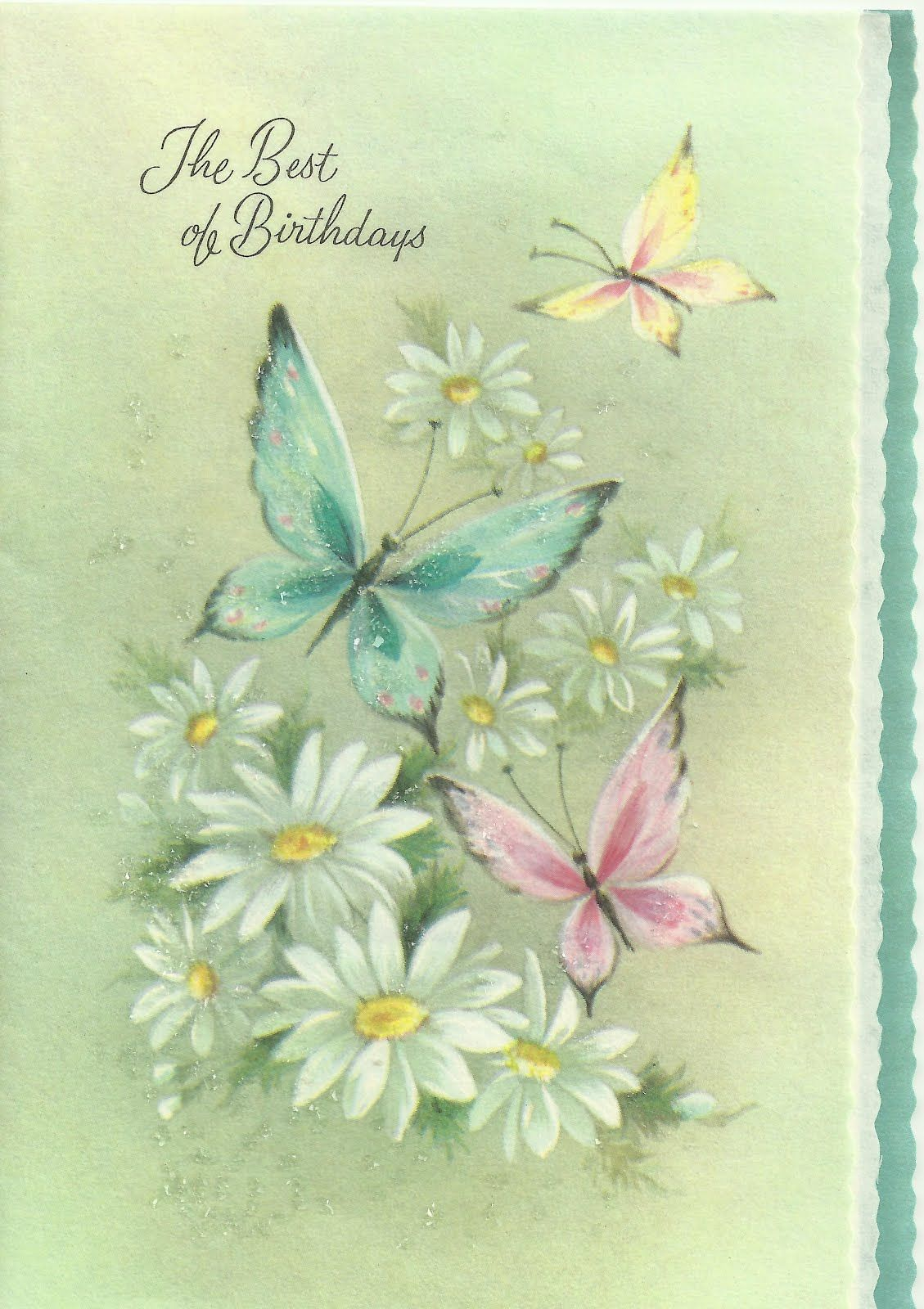 Cheryls Place Vintage Birthday Cards Vintage Cards In 2018