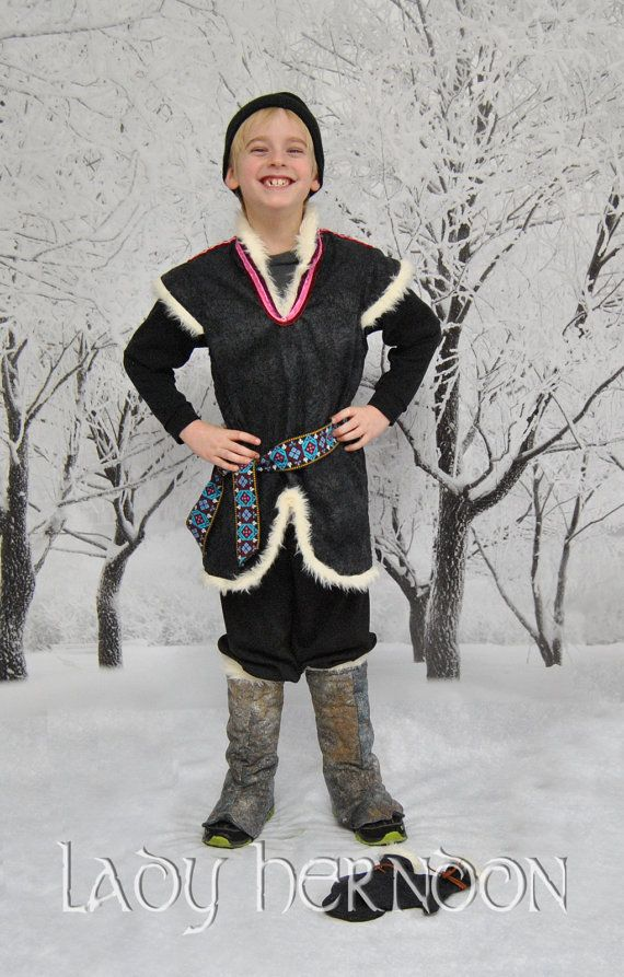 My Adventure Kristoff Costume from Disney's Frozen  by LadyHerndon, $185.00