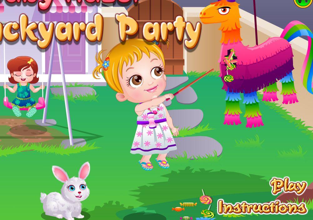 Baby Hazel Backyard Party (With images) | Baby hazel, Free ...