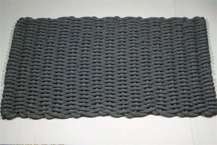 American Made Texas Rope Doormats Gray Hand Woven Indoor Outdoor Rope  Doormat. Texasdoormats.com