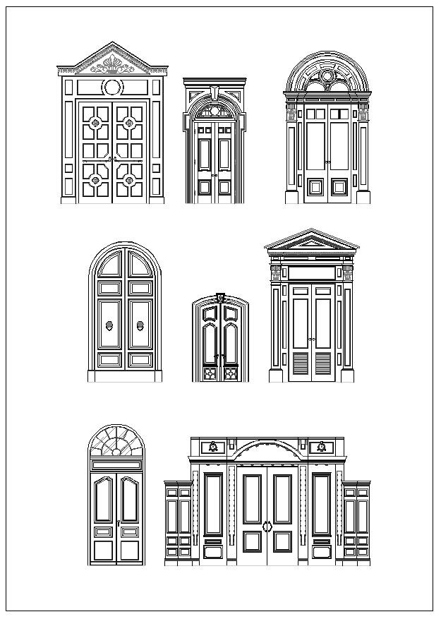 Pin By Cad Blocks Amp Drawings On Neoclassical Design Column
