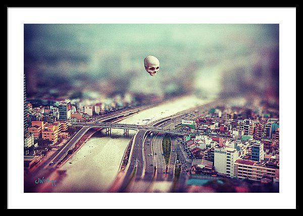 Godseye By Joseph Westrupp Surreal Artwork City Art Ho Chi