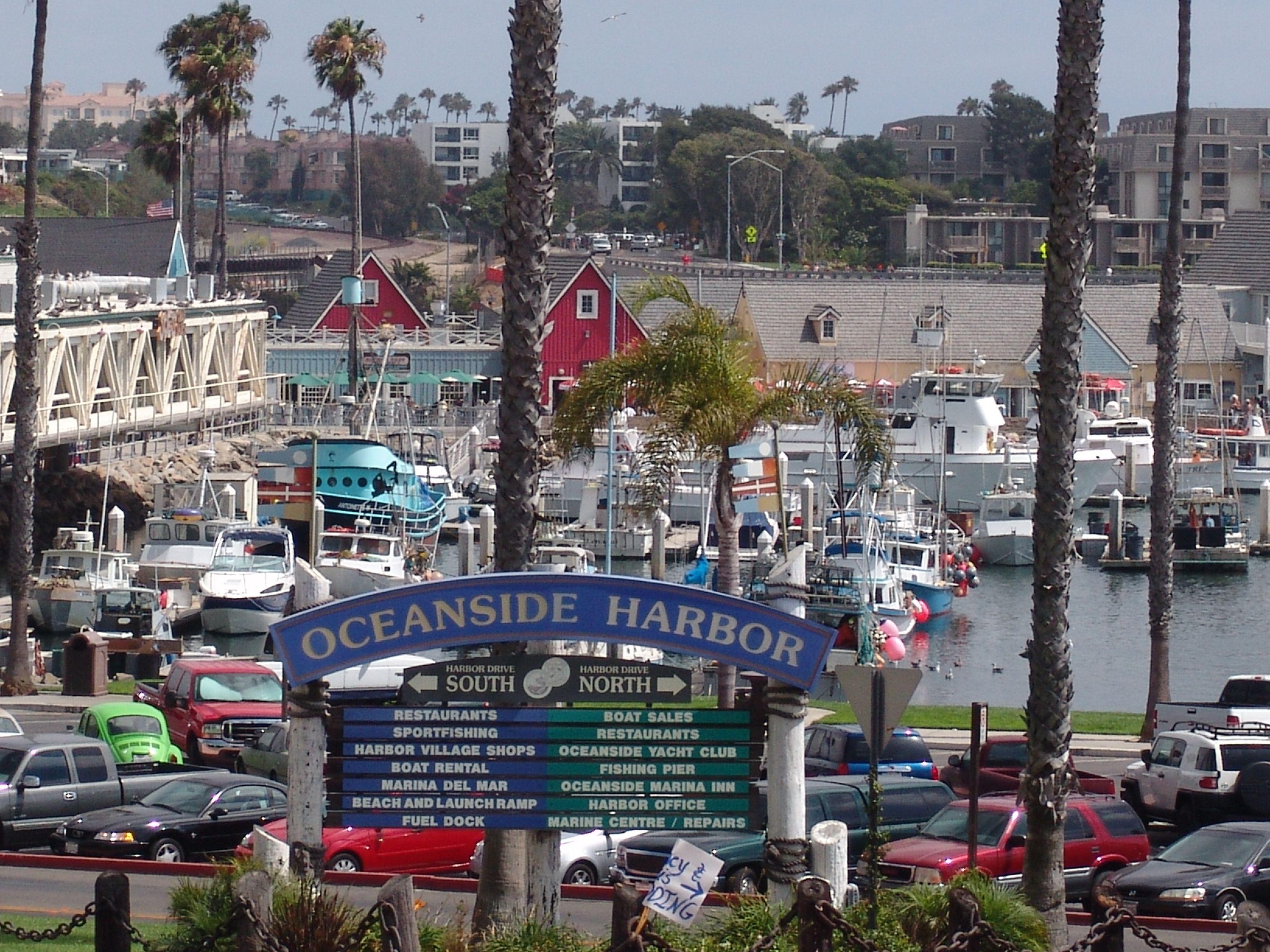 Oceanside Harbor California