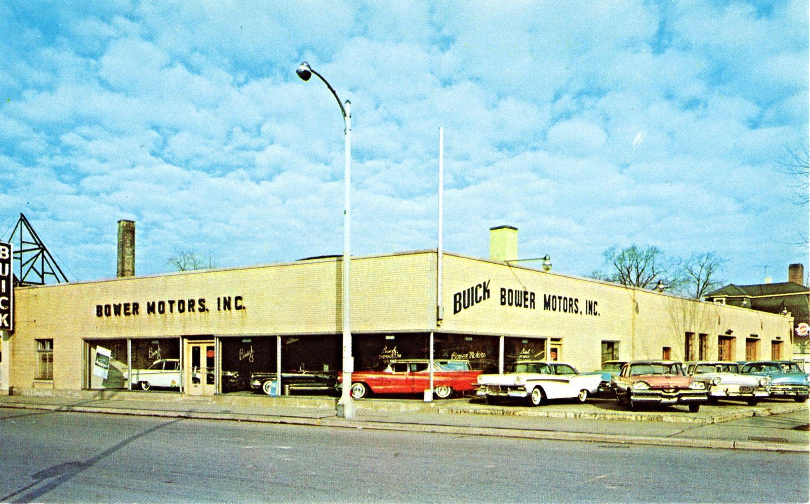 Bower Motors Inc Buick La Grange Il 1959 Buick Car Dealership Buick Cars