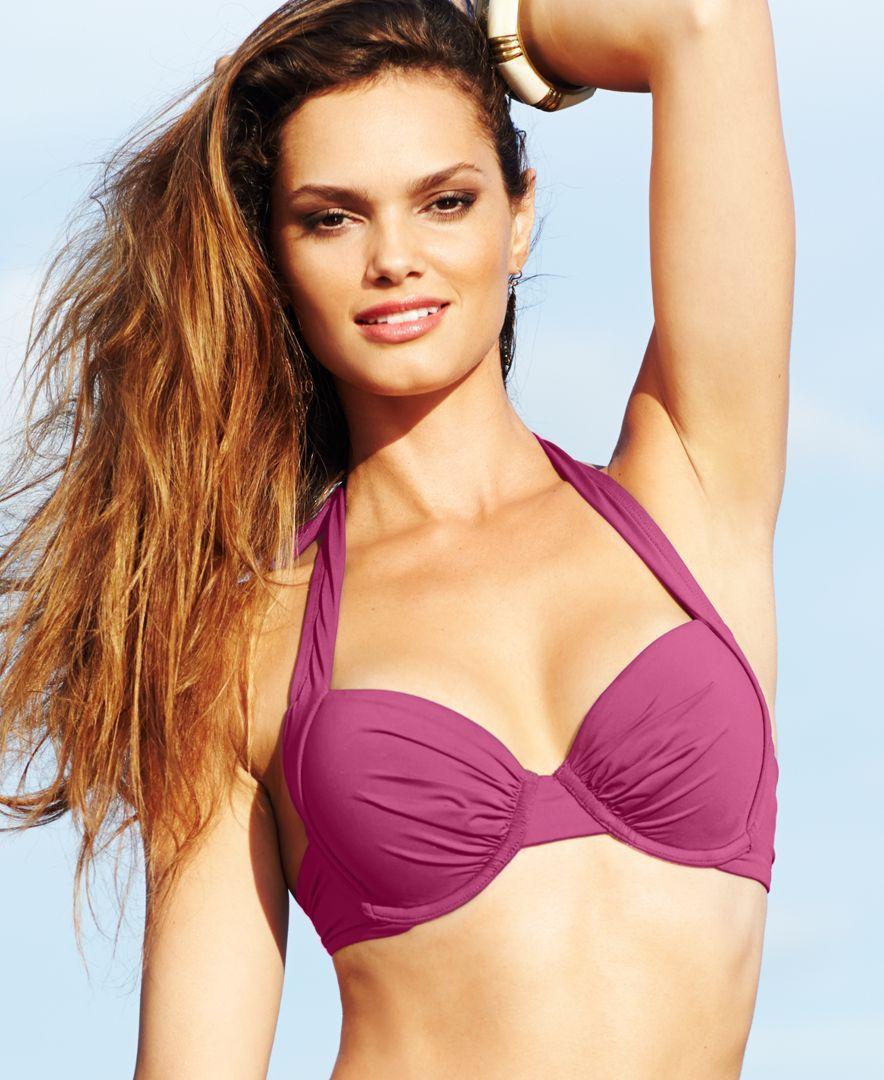 5e9ffacd02c7e Tommy Bahama Underwire Halter Bikini Top   Products   Bikini tops ...