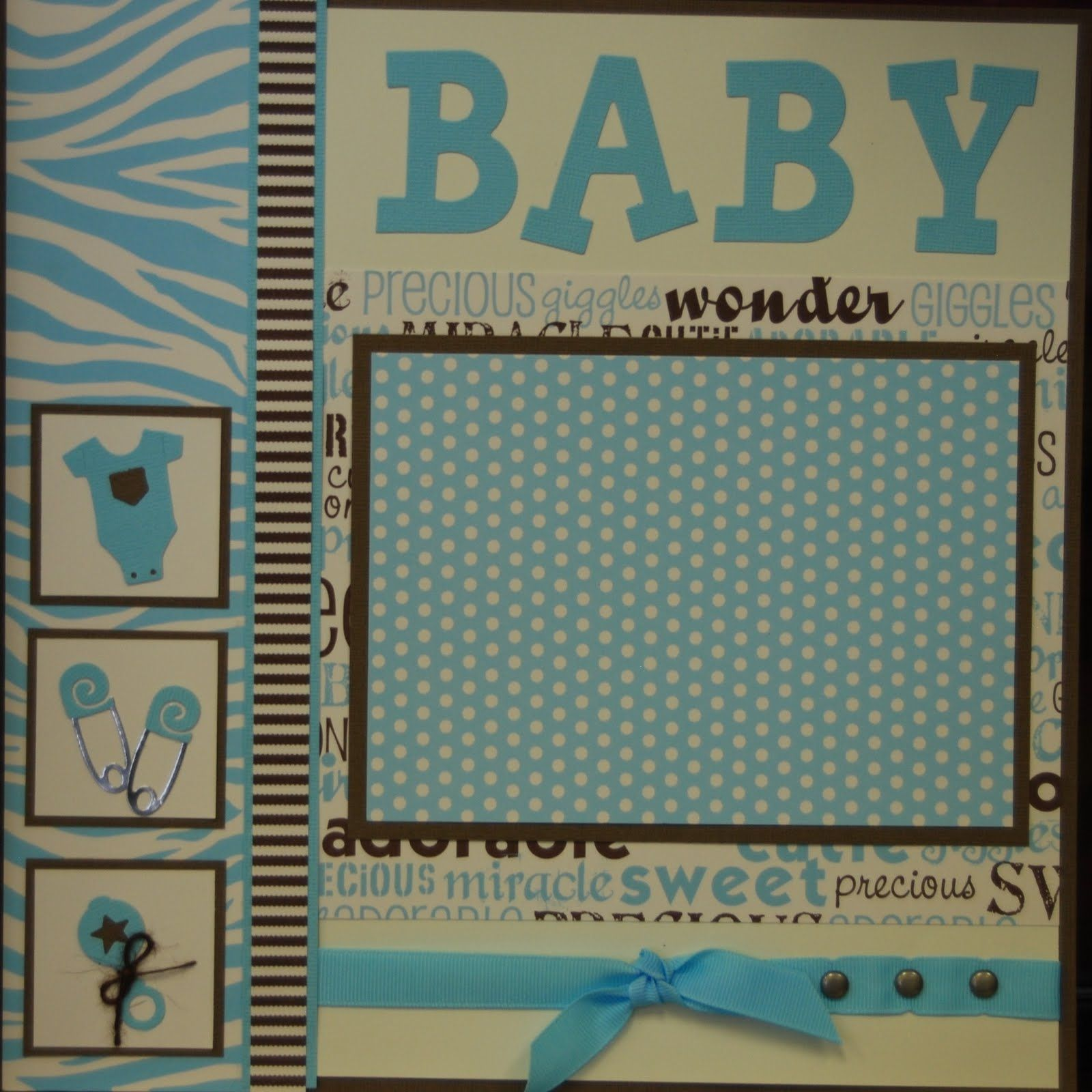 images of baby scrapbook pages | Baby Page Kits | Scrapbook Layouts ...