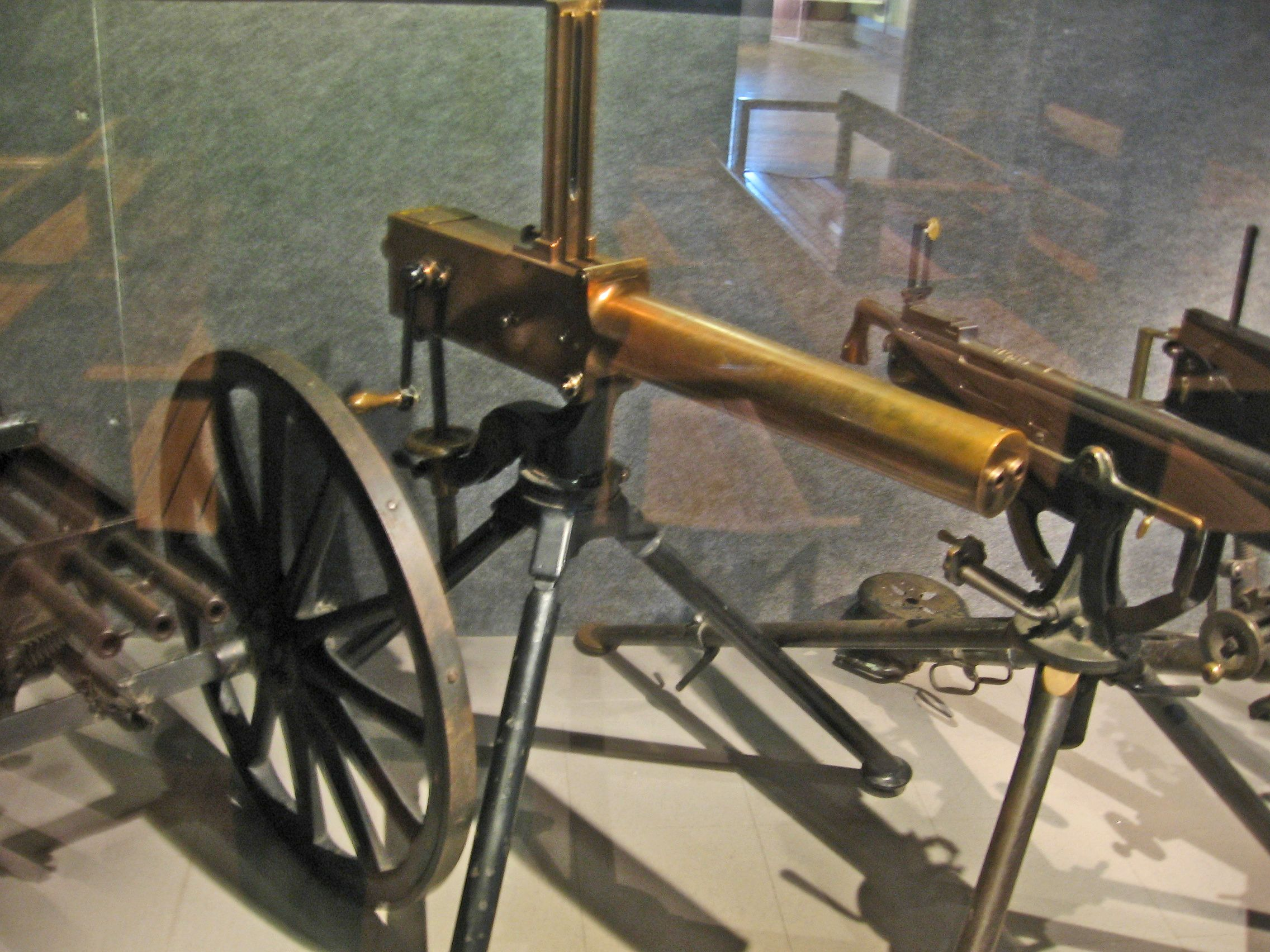 war machines weapons invented during the civil war Having invented the first machine gun, richard john gatling explained (or at  least  been a thoroughly american ambition since the civil war.