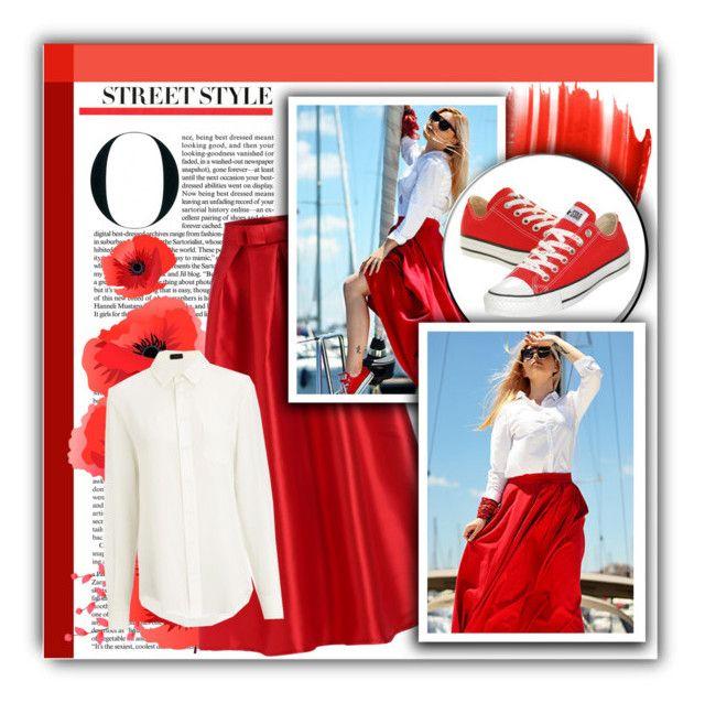 """Crimson Love | Style idea"" by hevsyblue2 ❤ liked on Polyvore"