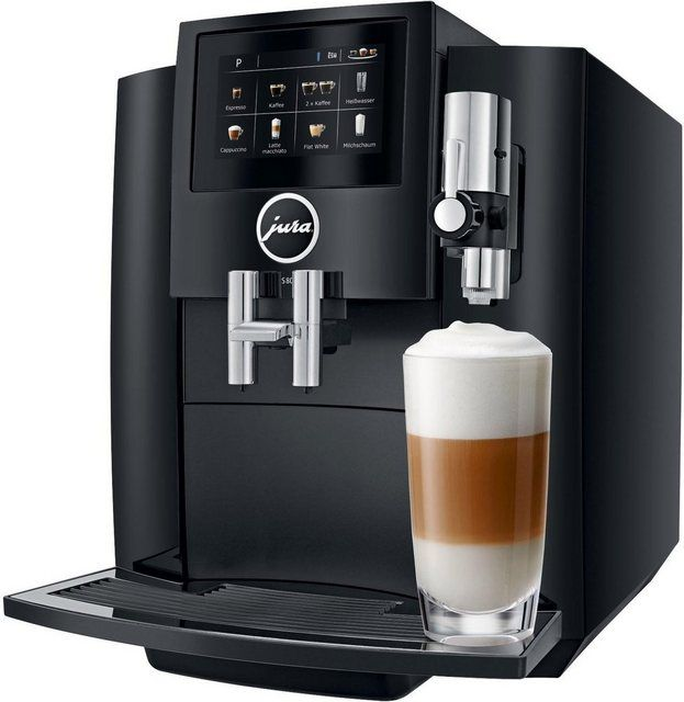 Kaffeevollautomat S80 Piano Black