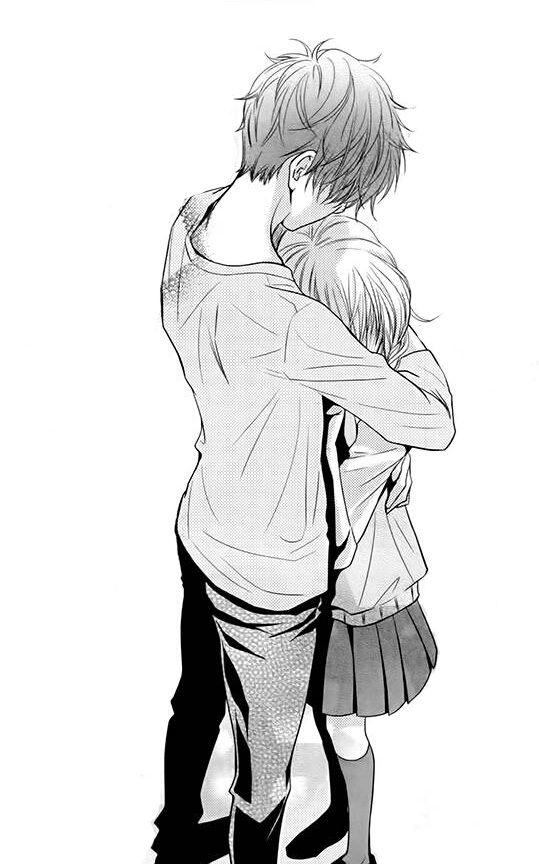 Not1ce M3 Senpa11 Anime Hug Manga Couple Romantic Anime