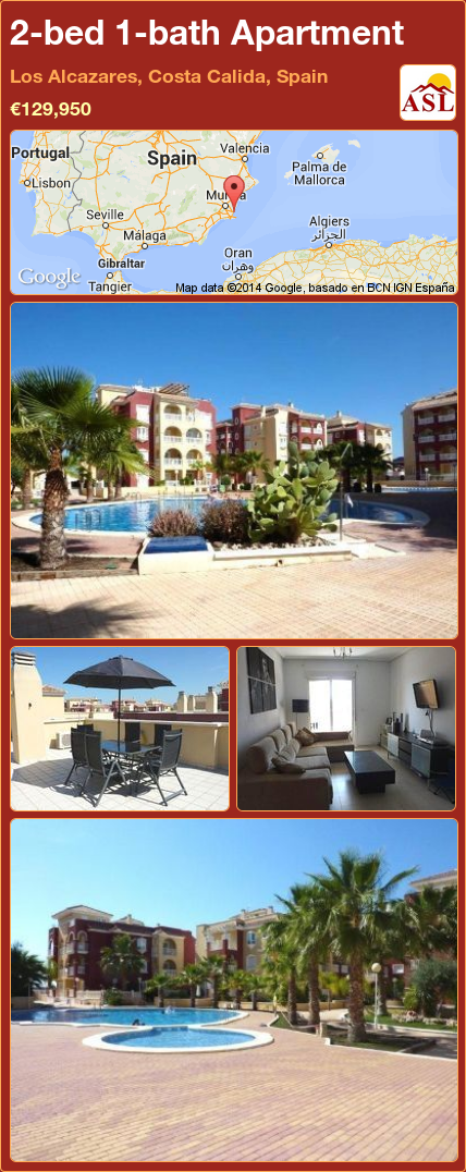 2 Bed 1 Bath Apartment In Los Alcazares Costa Calida Spain 129 950 Propertyforsaleinspain Spain Mallorca Espana