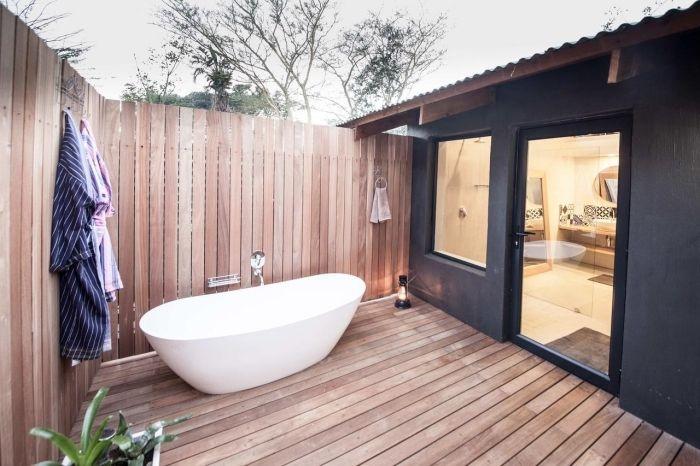 ▷ 1001 + modèles inspirants d\'une salle de bain avec parquet ...