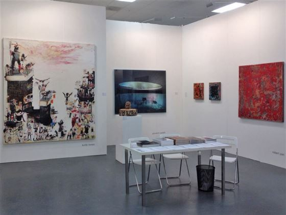 #Art15 in #London with #SissaMicheli #KinkiTexas #GiovanniCastell & #RobertPan