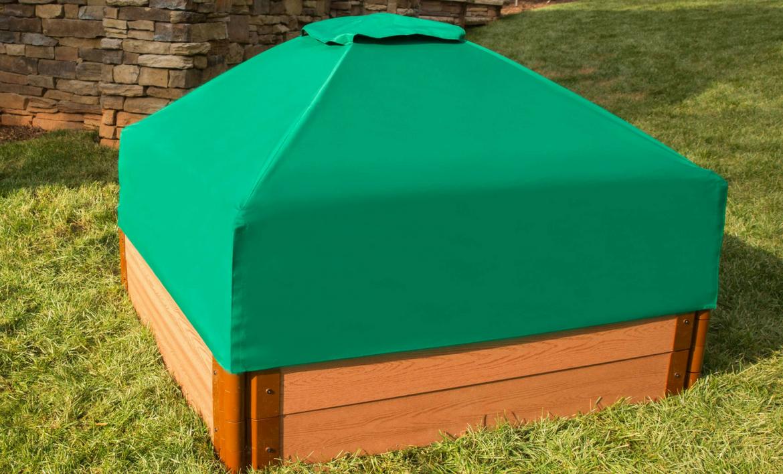 Pin By Ligia Bilac On Daycare Raised Garden Beds Wooden Sandbox Sandbox Cover