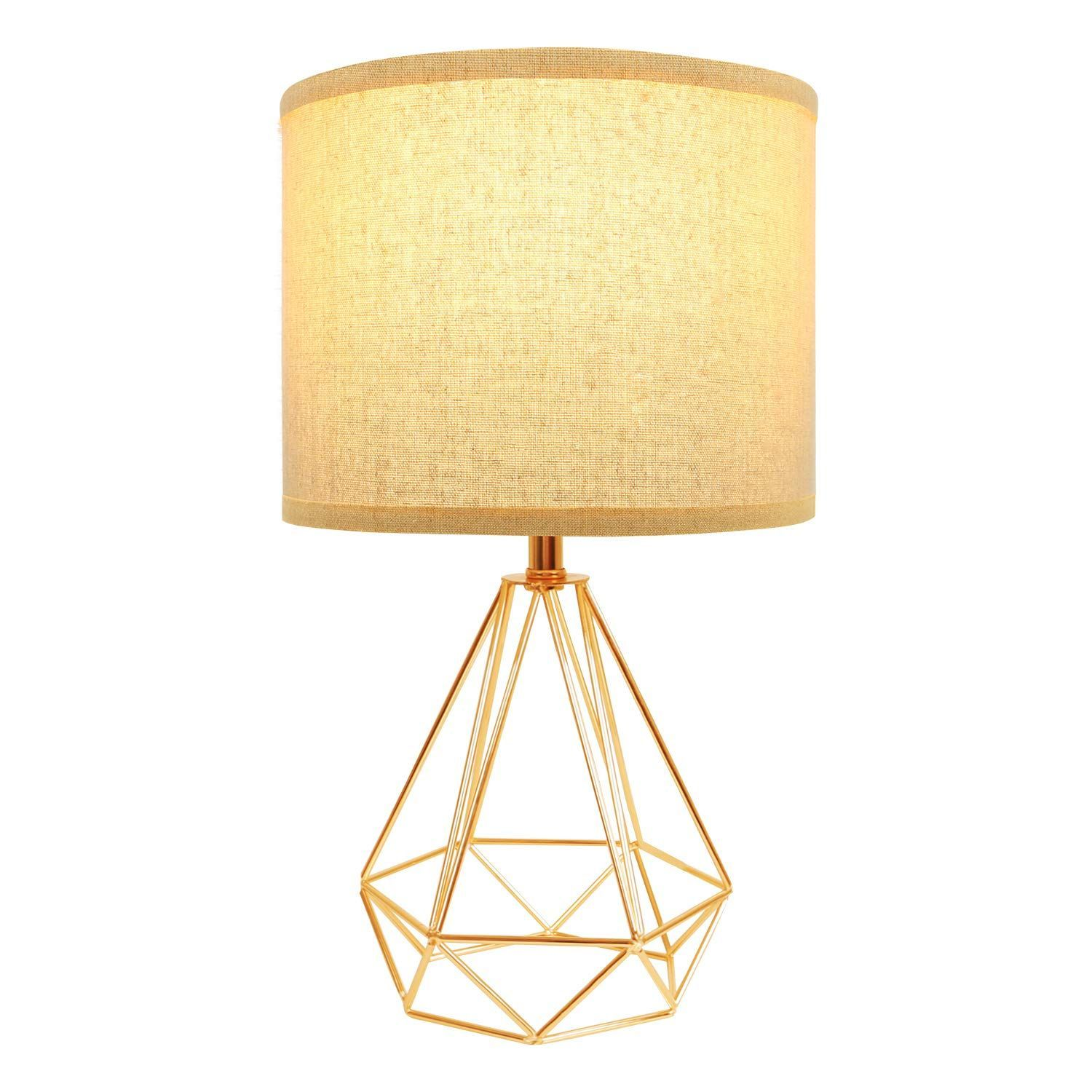 Hong In Modern Gold Table Lamps Geometric Hollowed Out Base 15 2 Bedside Base Bedside Geometr In 2020 Modern Gold Table Lamps Gold Table Lamp Modern Table Lamp