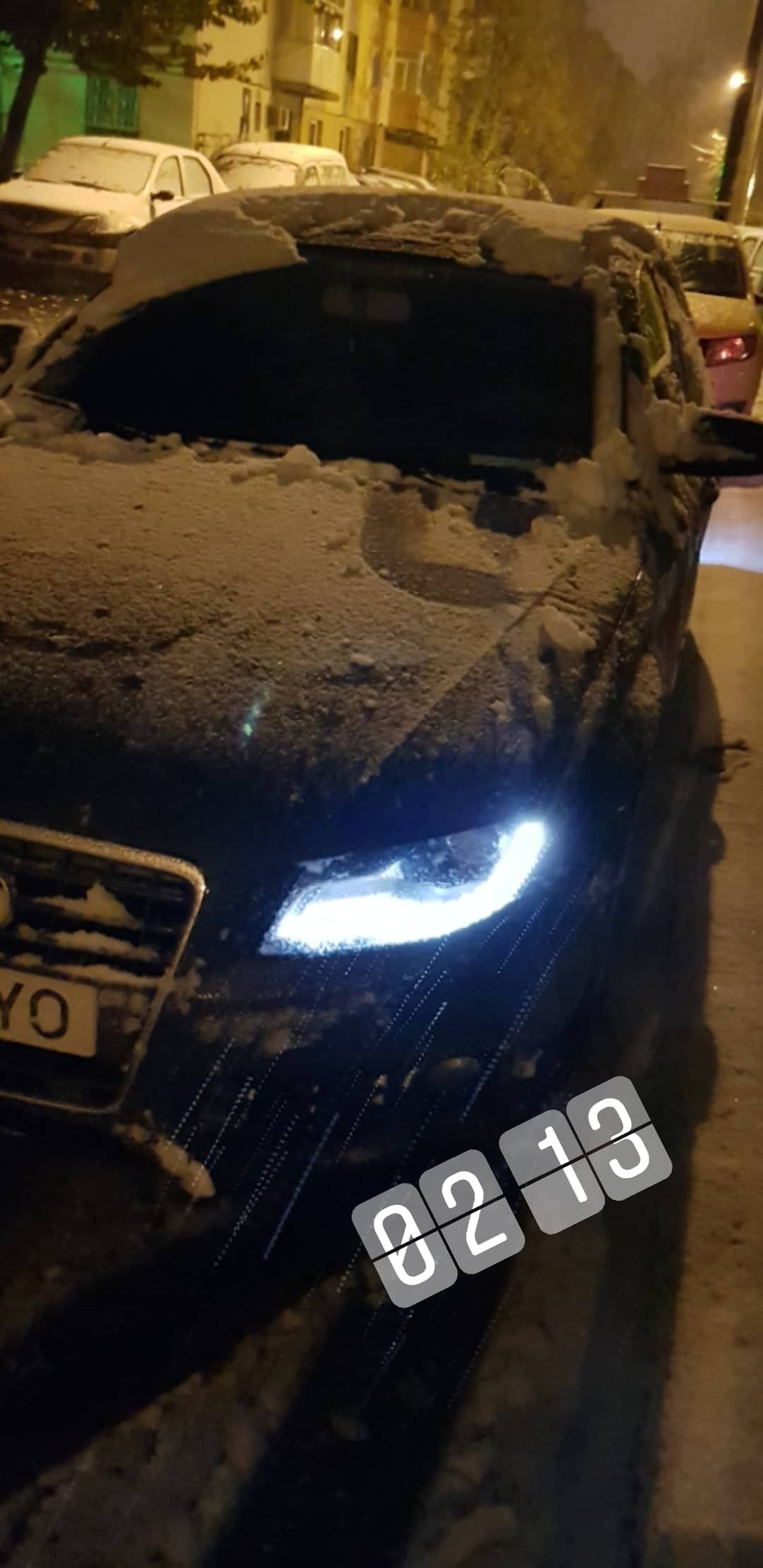 Audi A4 B8 And Snow