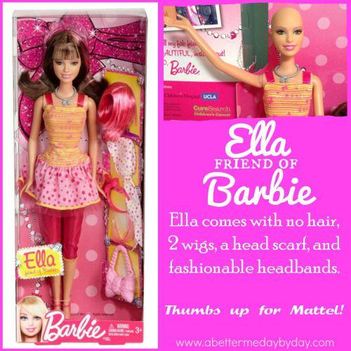 Ella friend of barbie cancer chemo lupus awareness www ella friend of barbie cancer chemo lupus awareness sciox Images