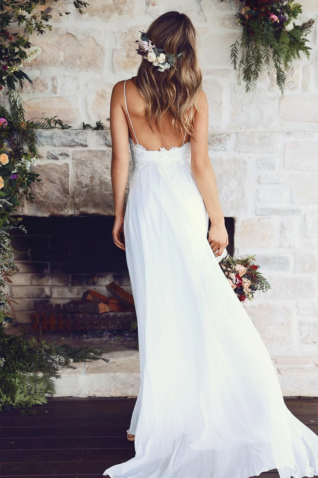 Silhouette wedding dresses simple bridal  Tara  Silhouettes Romantic and Gowns