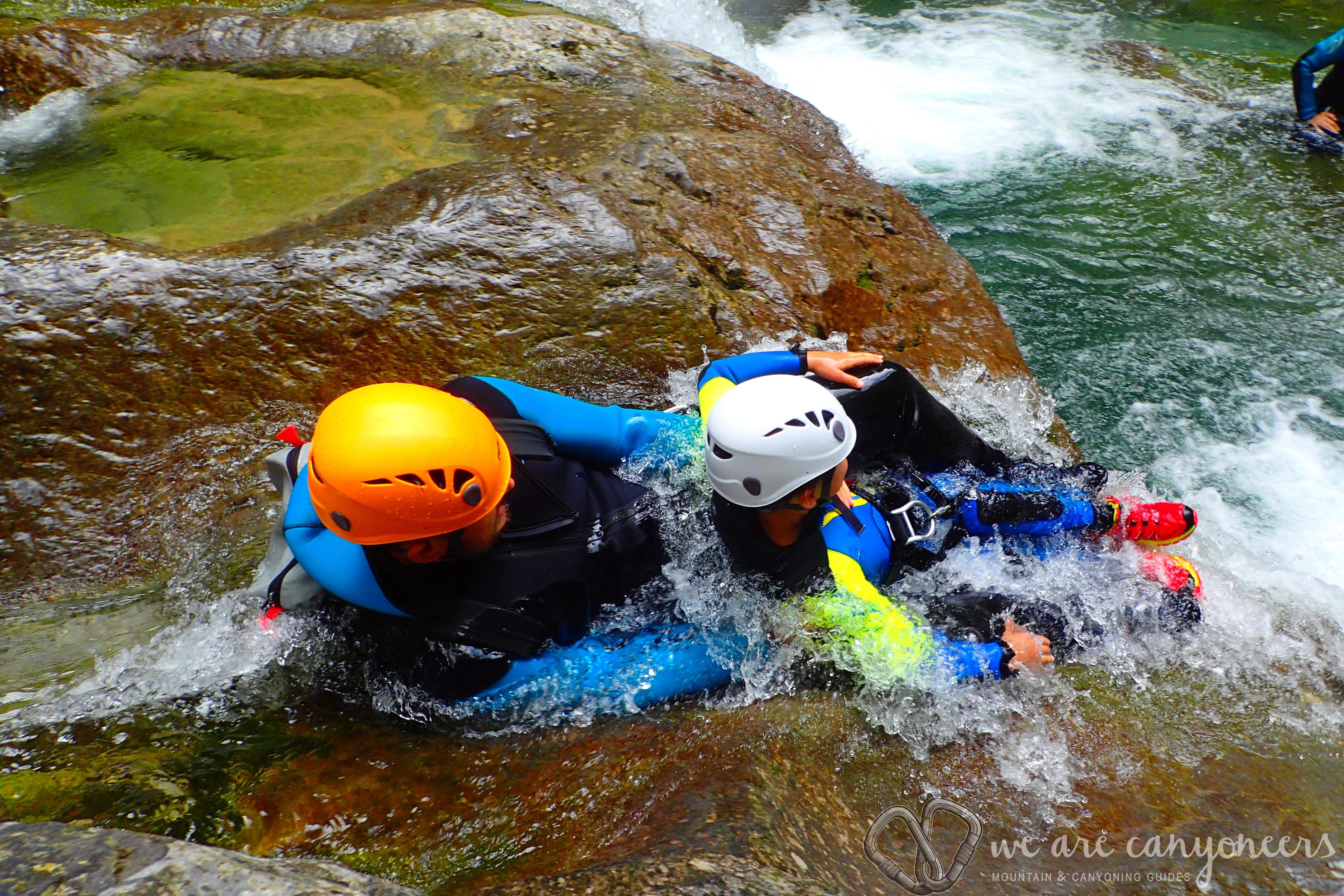 Canyoning Family With Kids Spanish Pyrenees