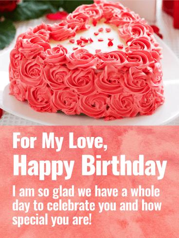 Sweet Treats For Your Sweet Heart Happy Birthday Card Birthday Greeting Cards By Davia Birthday Wishes For Lover Romantic Birthday Wishes Happy Birthday Girlfriend