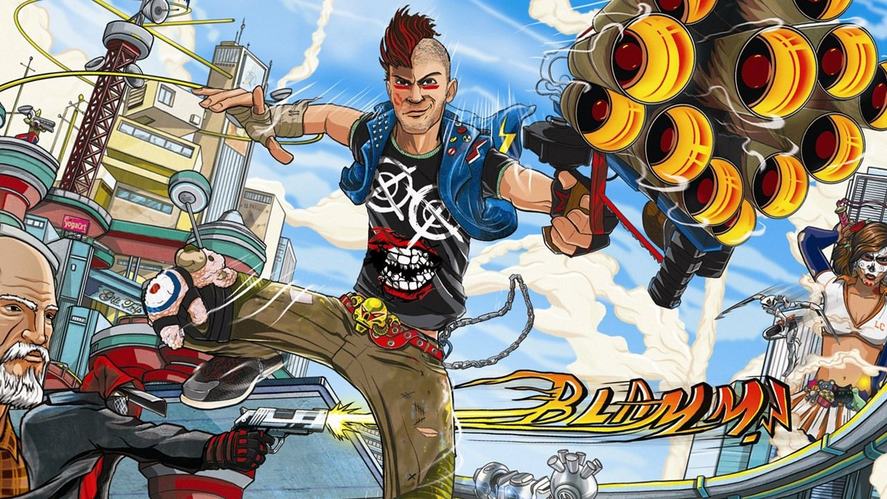 Wallpaper Sunset Overdrive Exclusive Xbox One XboxOne XboxS XboxOneS SunsetOverdrive