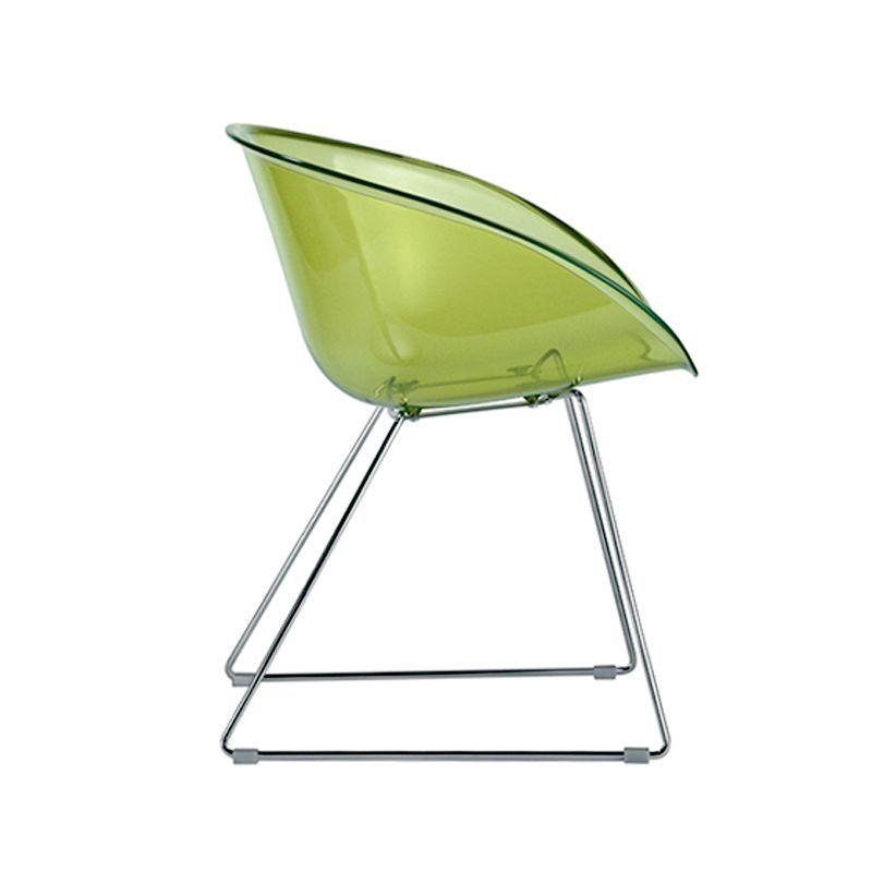 Gliss 921 Chaise Luge Polycarbonate Pedrali Chaise Meuble Design